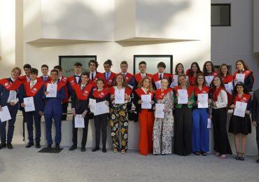 Clausura de la IV edición del School Master en Gestión Deportiva ISDE-C. Brains